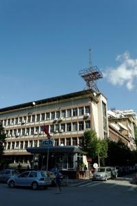 Headquarters of Radio Televizioni Shqiptar