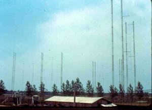 Antenna Farm at KBS Kimje Transmitter Site