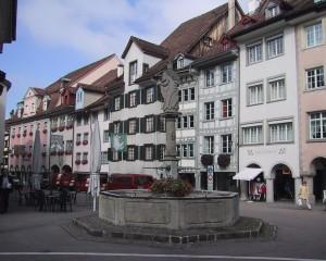 vOld Town Wil Altstadt von Wil